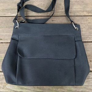 Urban Oxide UO2 Rubber Crossbody Bag!! Awesome 🖤